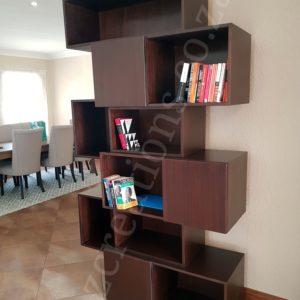 zine bookshelf
